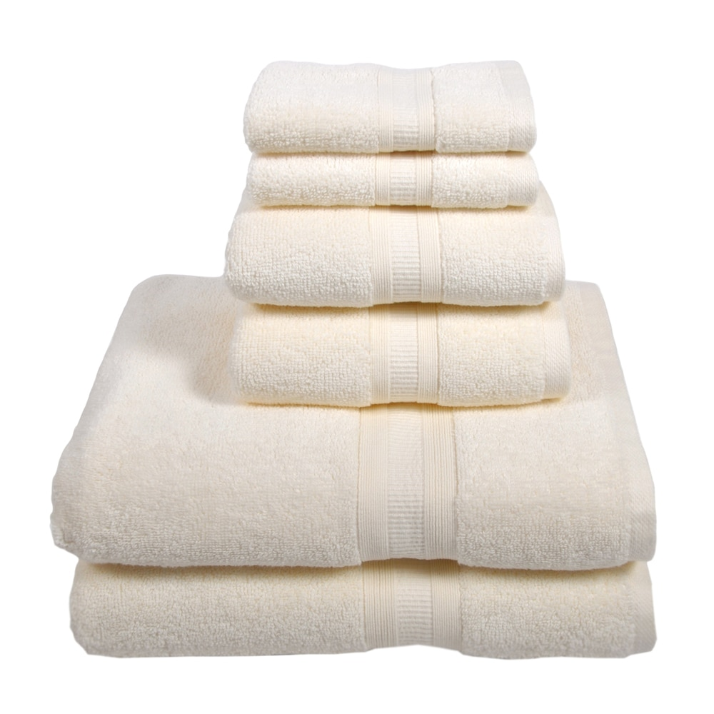 Home Source International MicroCotton Aertex 6-Piece Towel Set