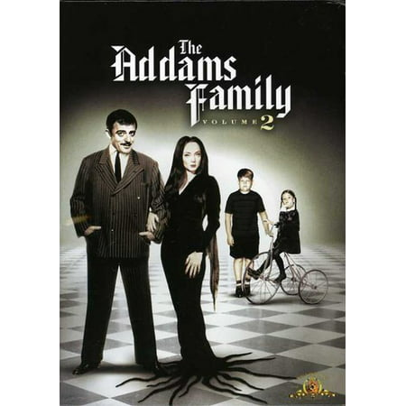 The Addams Family: Volume 2 (DVD) (Addams Family Values Halloween)