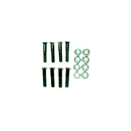 SKATEBOARD HARDWARE 7/8 in PHILLIPS 1 SET NUTS & BOLTS 8pc ()