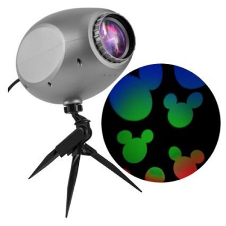 Disney Mickey Mouse Cascading Lights LED Projection Spotlight Christmas Multi-Colored