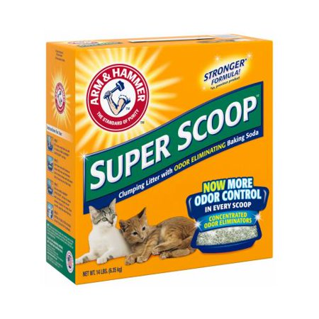Church   Dwight 02140 Super Scoop Clumping Litter  14 Lbs
