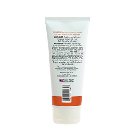 Mountain Falls Invigorating Apricot Scrub Facial Cleanser, Compare to St. Ives, 6 Ounce - image 1 de 4