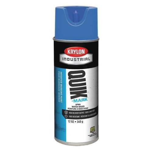 KRYLON Marking Paint,Brilliant Blue,12 oz., A03406004