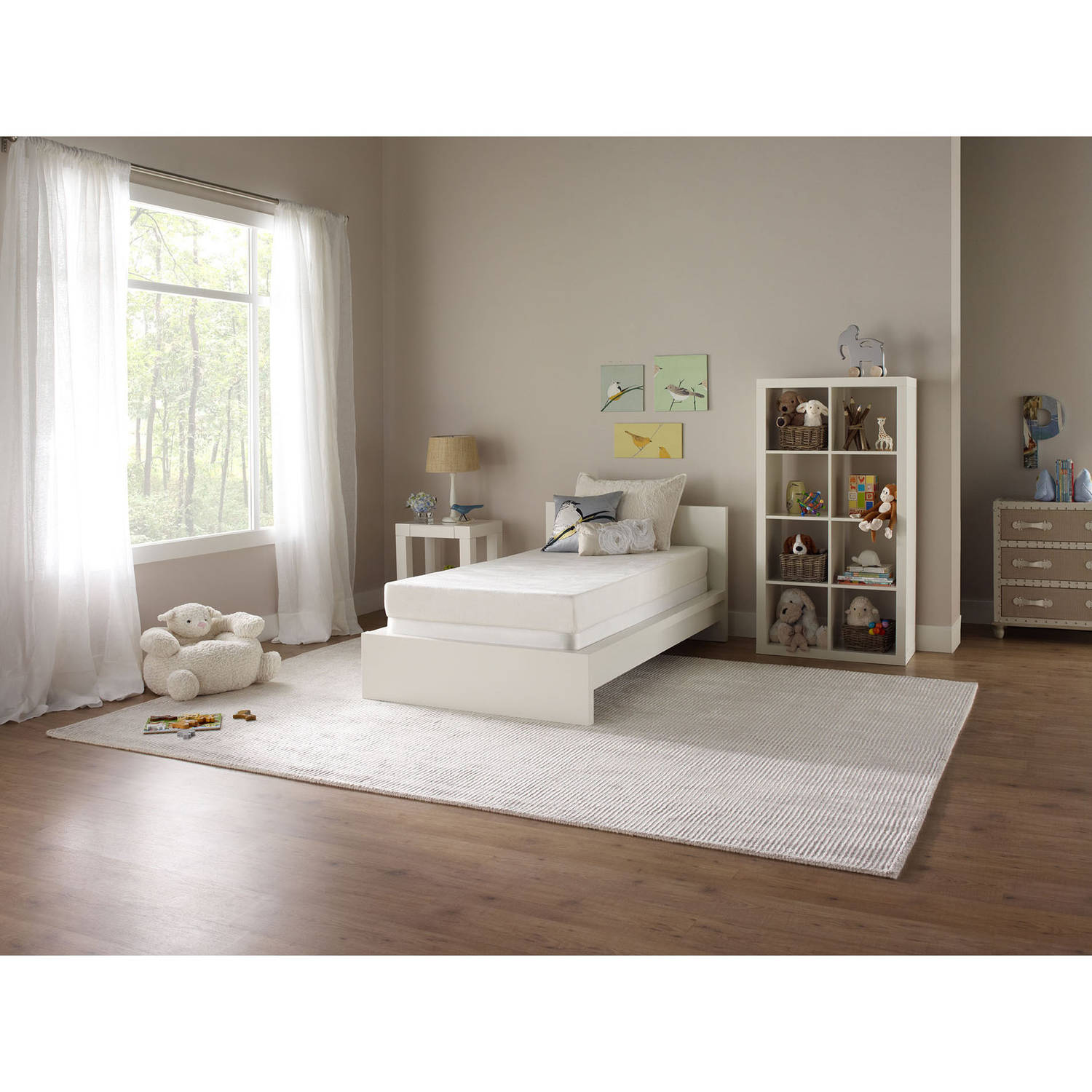 "Simmons Studio 6"" Foam Mattress, Multiple Sizes"
