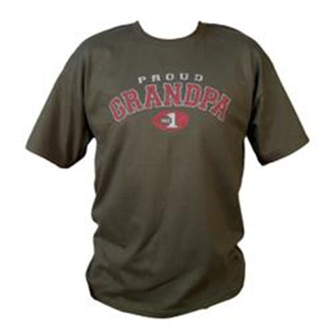 Daddys Tool Bag DTBTPG-XXL Proud Grandpa T Shirt Olive Size XX Large