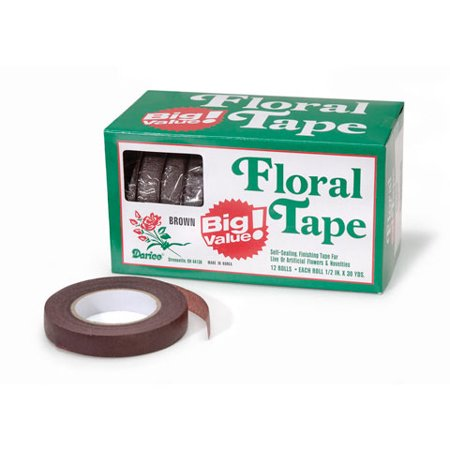 Floral Tape (Floral Tape - Brown - .5 inch)