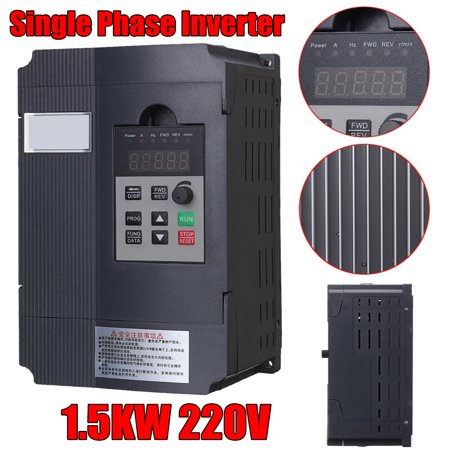 1.5KW Single Phase 2HP 220V Input To 3 Phase Output Variable Frequency Converter Drive Inverter