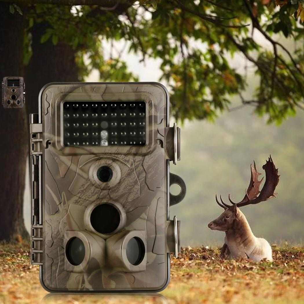 Trail Hunting Game Camera , 12MP 1080P HD 120� Wide-Angle Wildlife Scouting Infrared Night Vision 22M   75FT Waterproof... by