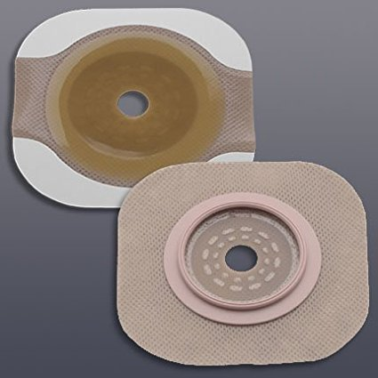 5014202 - Inc New Image 2-Piece Cut-to-Fit Flat FlexWear (Standard Wear) Skin Barrier 1-1/4 Opening, 1-3/4 Flange Size, Sold_In - 5/BX By Hollister