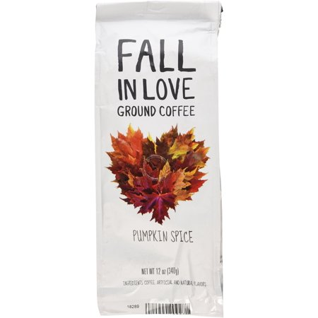 Fall In Love Flavored 12 Oz Ground Coffee (Pumpkin Spice, 12 oz) Pumpkin