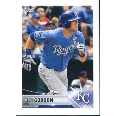 2018 Topps Stickers #97 Alex Gordon Kansas City Royals Baseball - Kansas City Royals Stickers