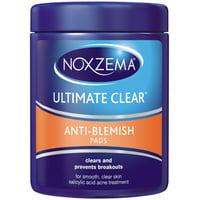 2 Pack - Noxzema Ultimate Clear Pads Anti Blemish 90 ct