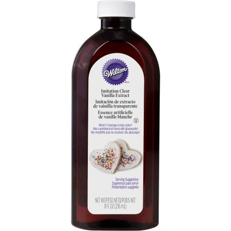 Wilton Imitation Clear Vanilla Extract, 8 fl oz.