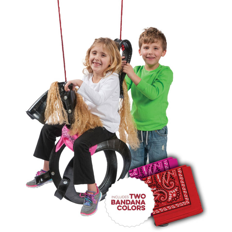 M&M Sales Enterprises Inc Pony Pal Tire Swing
