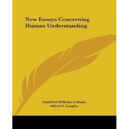 New Essays Concerning Human Understanding - image 1 of 1