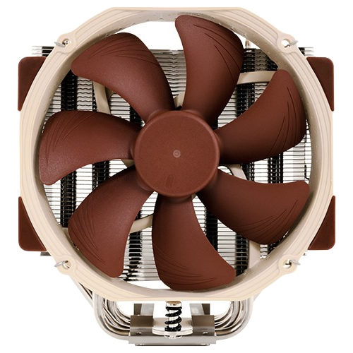 Noctua NH-U14S Noctua NH-U14S Cooling Fan/Heatsink - 1 x 140 mm - 1500 rpm - SSO2 Bearing - Socket R LGA-2011, Socket T LGA-775, Socket H LGA-1156, Socket H2 LGA-1155, Socket H3 LGA-1150, Socket AM2