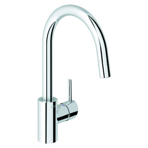 Grohe Concetto Pull-Down Single Handle Single Hole Bar Kitchen Faucet with Watercare