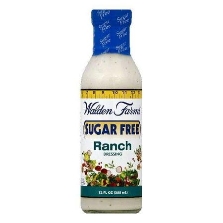 Walden Farms Sugar Free Ranch Dressing, 12 OZ (Pack of 6)