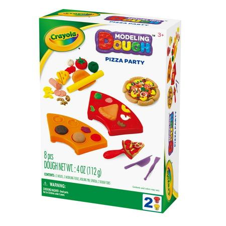 Crayola Party Supplies (Crayola Pizza Party Modeling Dough)