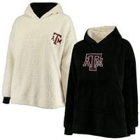 Texas A&M Aggies Reversible Big Logo Hoodeez - Black/Cream - OSFA