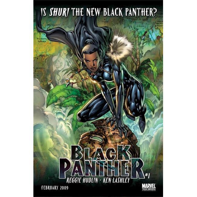 Pop Culture Graphics MOVAB29130 Black Panther, Tv Movie Poster Print, 27 x 40 - image 1 de 1