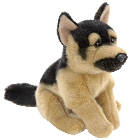 Animal Alley Plush 9  German Shepherd Dog Black And Tan  Tan Genuine Friends Paw Black Kratts Blacktan Pack Dog 10 12 Small Junior 16 Ionix Alley 5 Animal    By Toys R Us