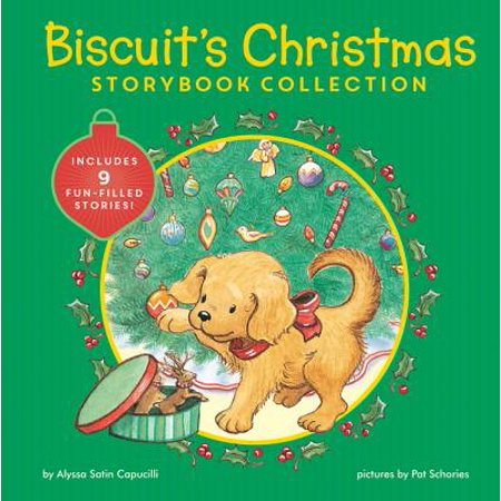 Biscuit's Christmas Storybook Collection: Includes 9 Fun-Filled Stories! (Hardcover) ()