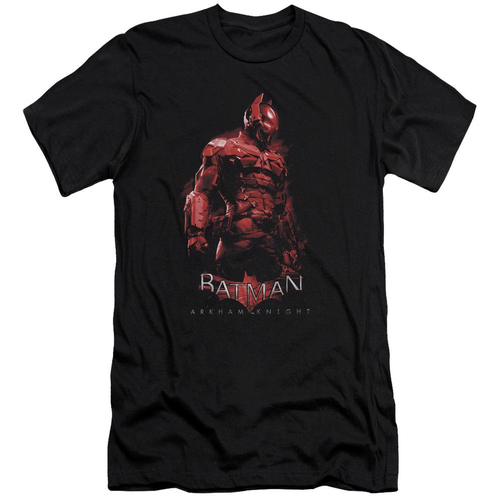 Batman Arkham Knight Knight Mens Slim Fit Shirt by Trevco