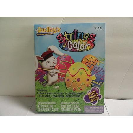Dudley's Strings of Color Easter Egg Decorating Kit](Egg On A String)