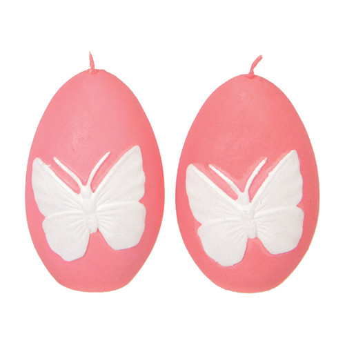 Fantastic Craft Butterfly Egg Novelty Candle (Set of 2)