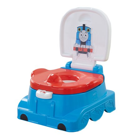 Fisher Price Thomas And Friends Railroad Rewards Potty  Blue
