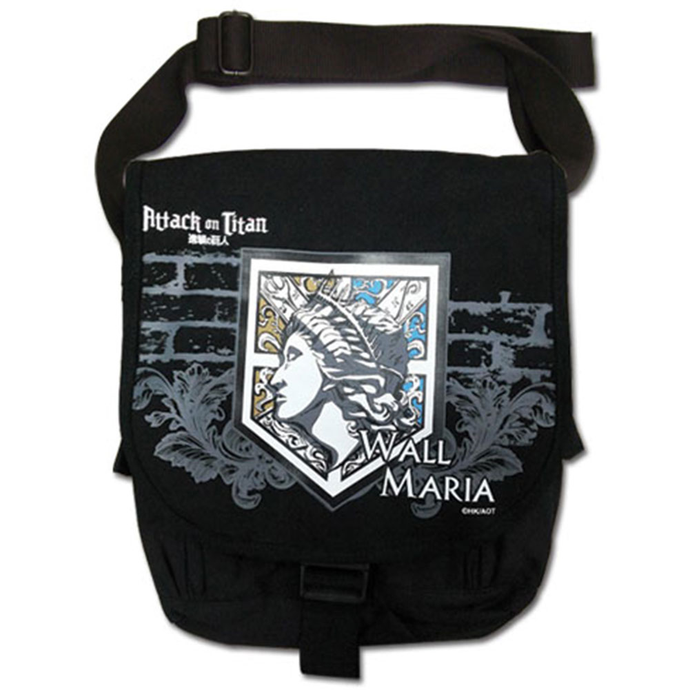 Attack On Titan Wall Maria Anime Messenger Bag