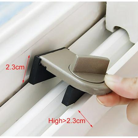 Kids Safe Security Sliding Window Door Sash Lock Restrictor Safety Catch ()