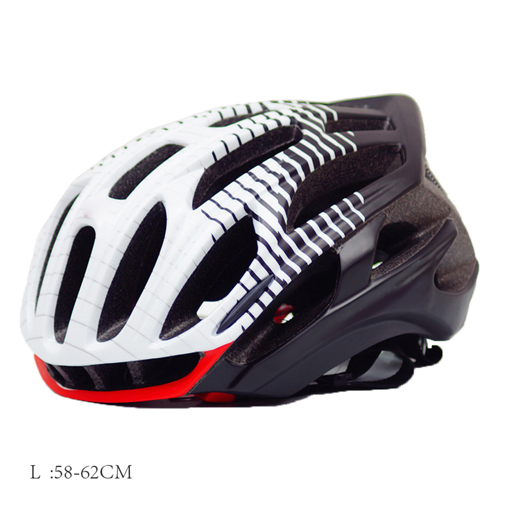 Cycling Helmet with Taillight Rear LED Light Ultralight Safe Bicycle Bike Riding