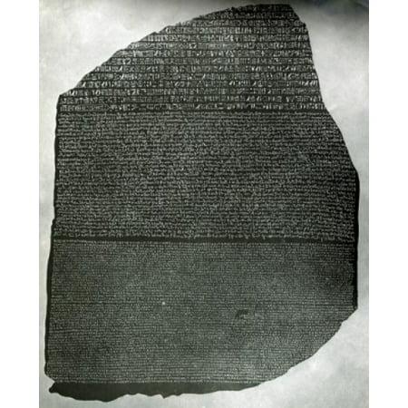 Rosetta Stone Poster Print