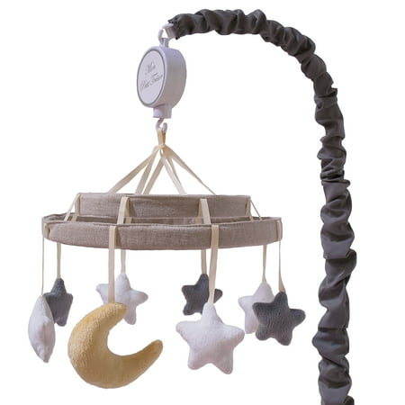 petit tresor musical crib mobile moons and stars nuit celestial crib mobile. Black Bedroom Furniture Sets. Home Design Ideas