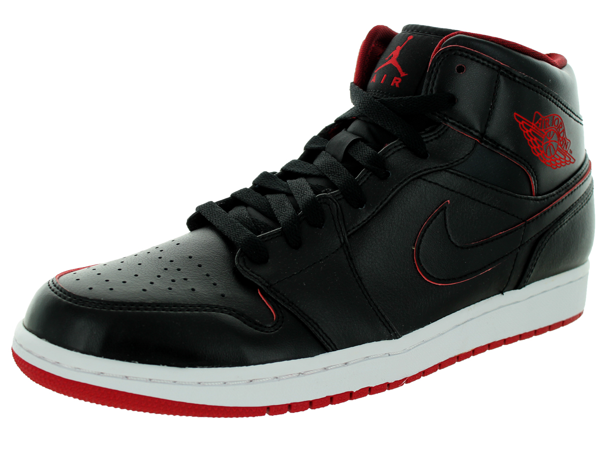 Nike Jordan Men\u0026#39;s Air Jordan 1 Mid Basketball Shoe