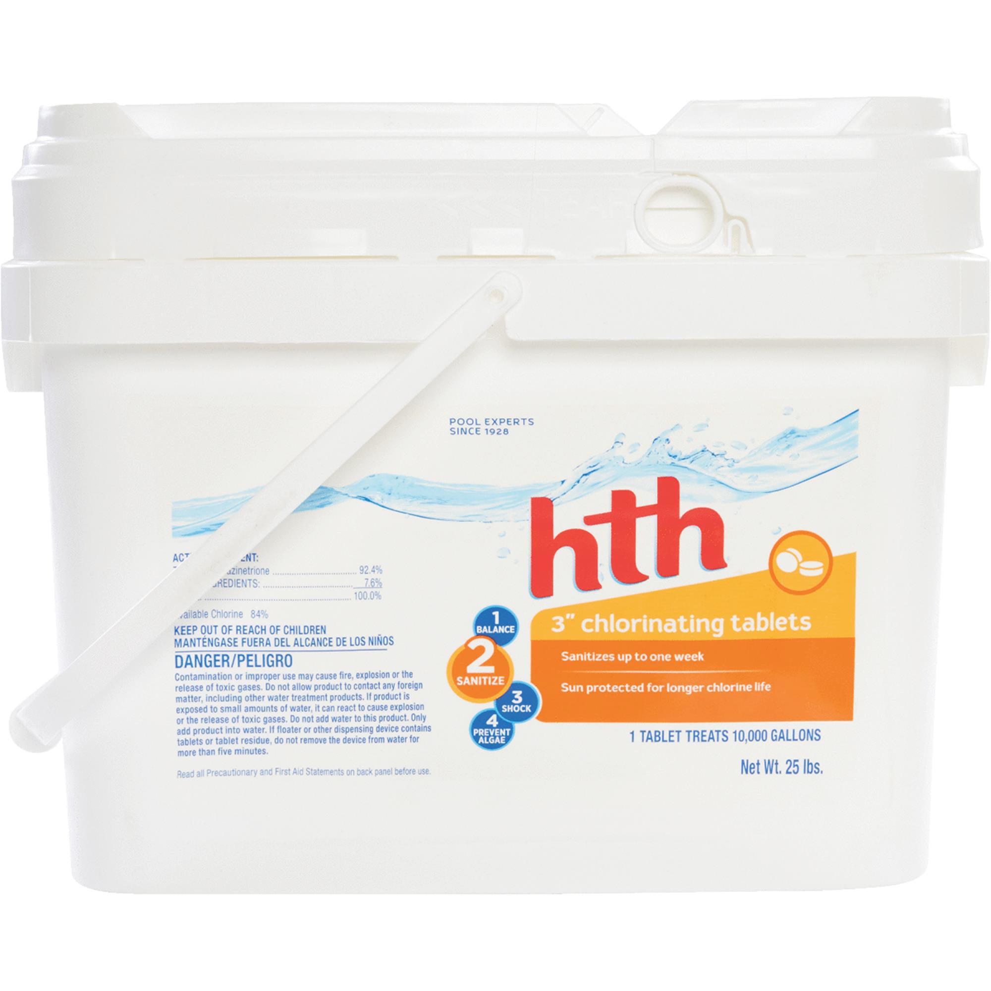 HTH 3 In. Chlorine Tablet