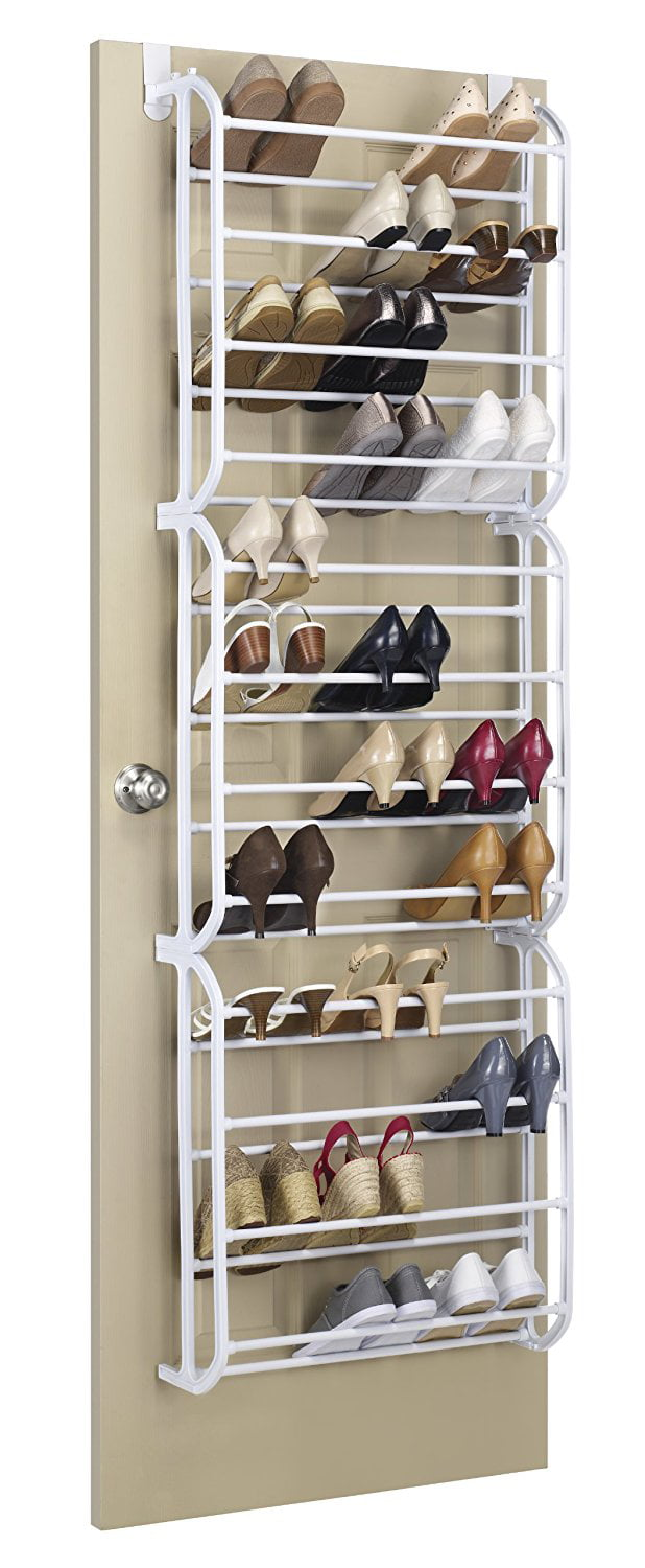 Resin 36-Pair Over The Door Shoe Rack, Fast shipping,Brand Whitmor by