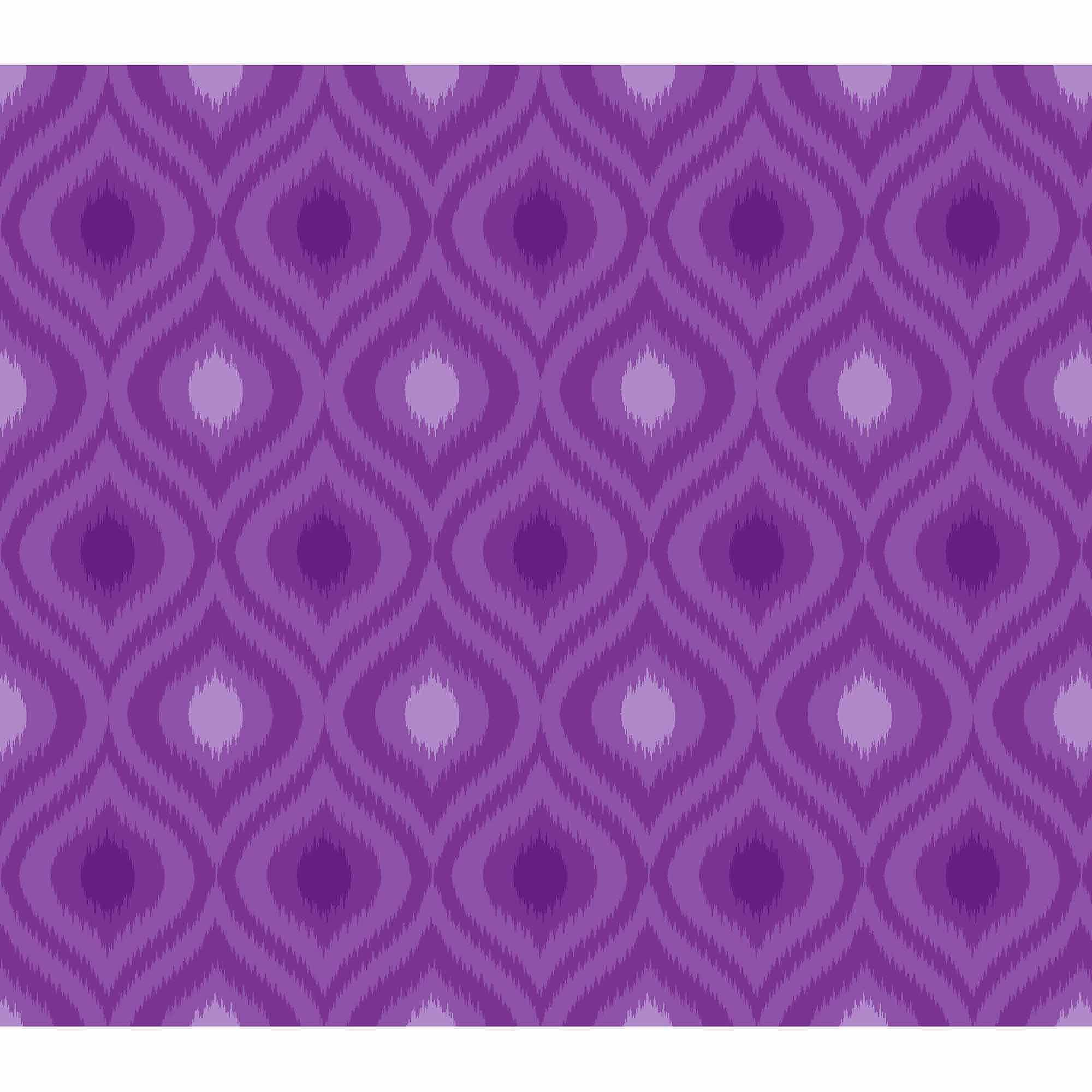 Springs Creative Cotton Blenders Tonal Ikat, Purple, Fabric by the Yard