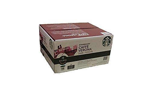 Starbucks Caffe Verona, Dark, K-Cup Portion Pack for Keurig K-Cup Brewers 54-Count by Starbucks