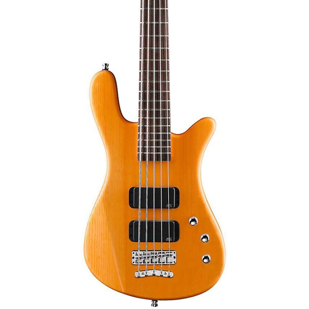 Warwick Rockbass Streamer Standard 5-String Electric Bass Guitar Honey Violin Oil