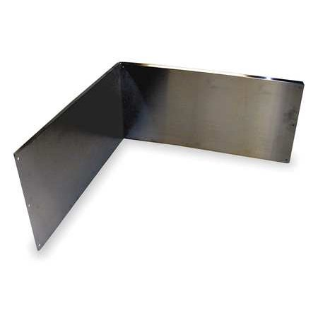 MUSTEE 67.2424 Wall Guards,For Use With Mop Sink (Mustee Mop)