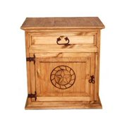 Mansion Nightstand w Rope Star