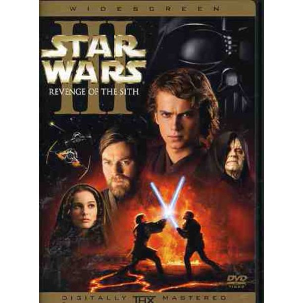 Star Wars Episode 3 Revenge Of The Sith Dvd Walmart Com Walmart Com