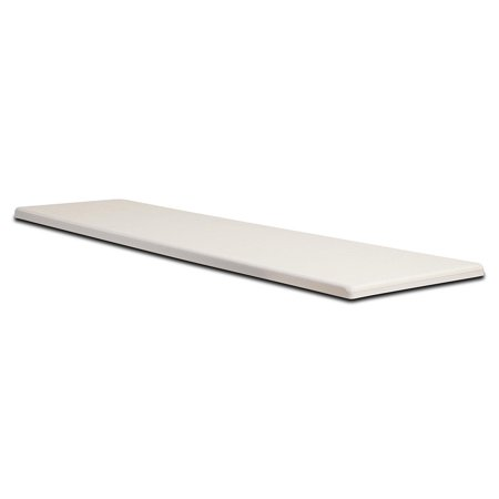 S.R. Smith 66-209-586S2 Frontier II Replacement Diving Board, 6-Feet, Radiant White