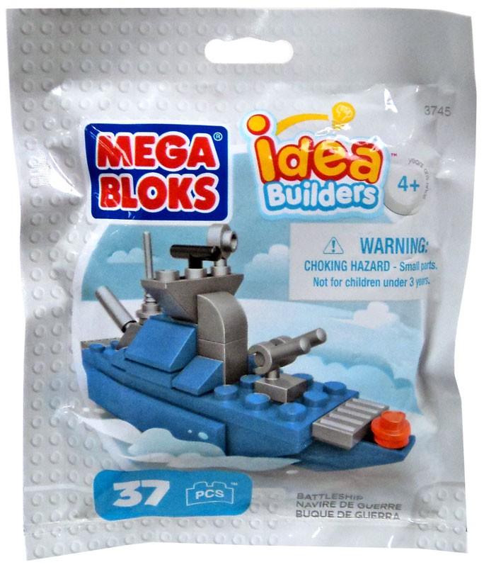 Idea Builders Battleship Set Mega Bloks 03745 by