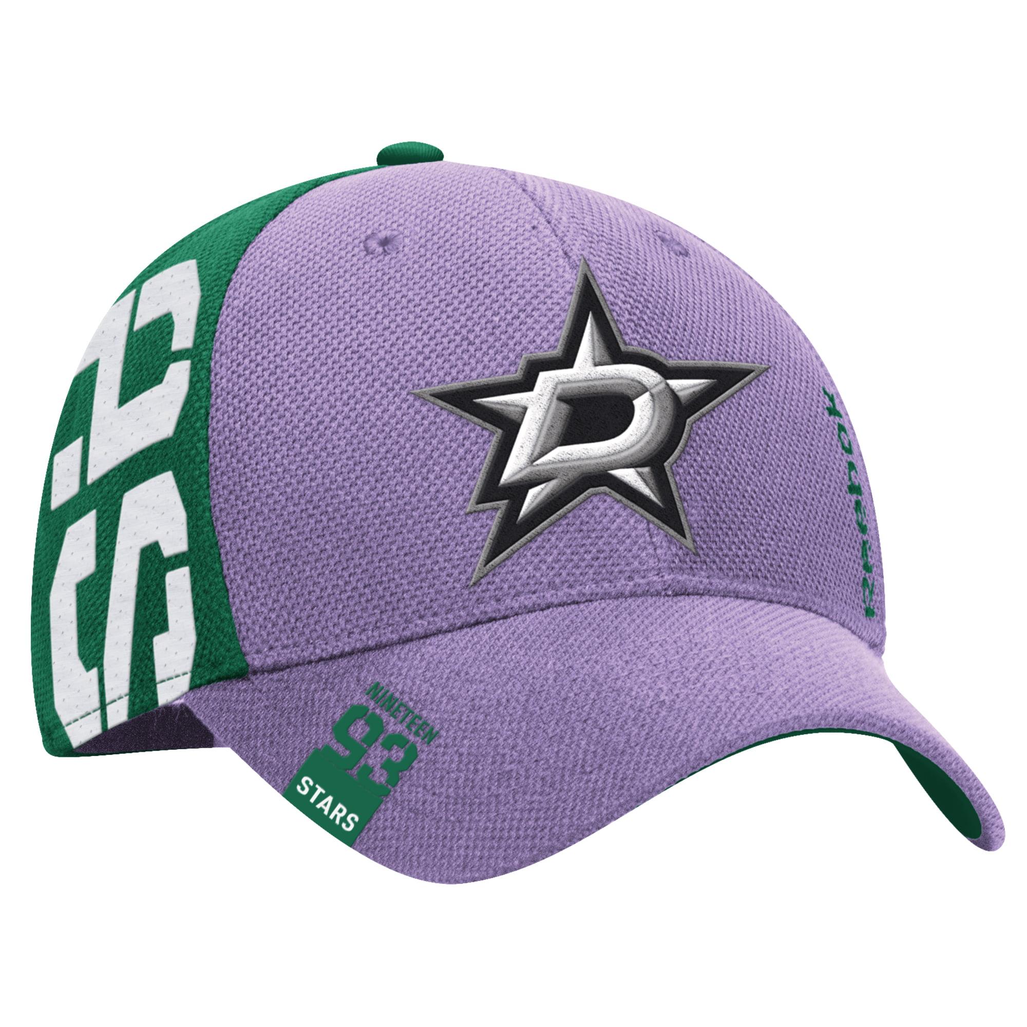 finest selection c1244 0e7f5 Dallas Stars Reebok Hockey Fights Cancer Flex Hat - Purple ...