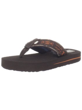 Teva Mush II Thong Sandal (Toddler/Little Kid/Big Kid),Pirahna Harvest Pumpkin,10 M US Toddler