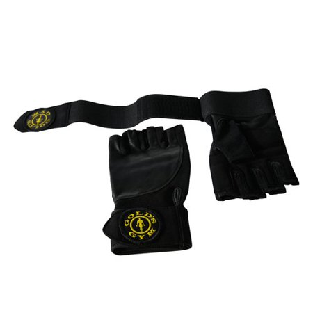 Gold's Gym Wrist Wrap Glove with Adjustable Strap